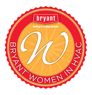 Bryant Women in HVAC Logo