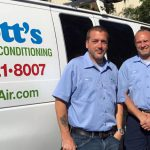 Couple of Scott's Air Teammates and their van
