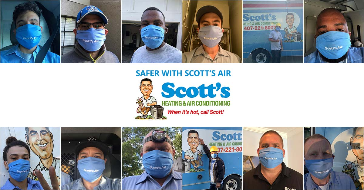 Safer with Scott's Air