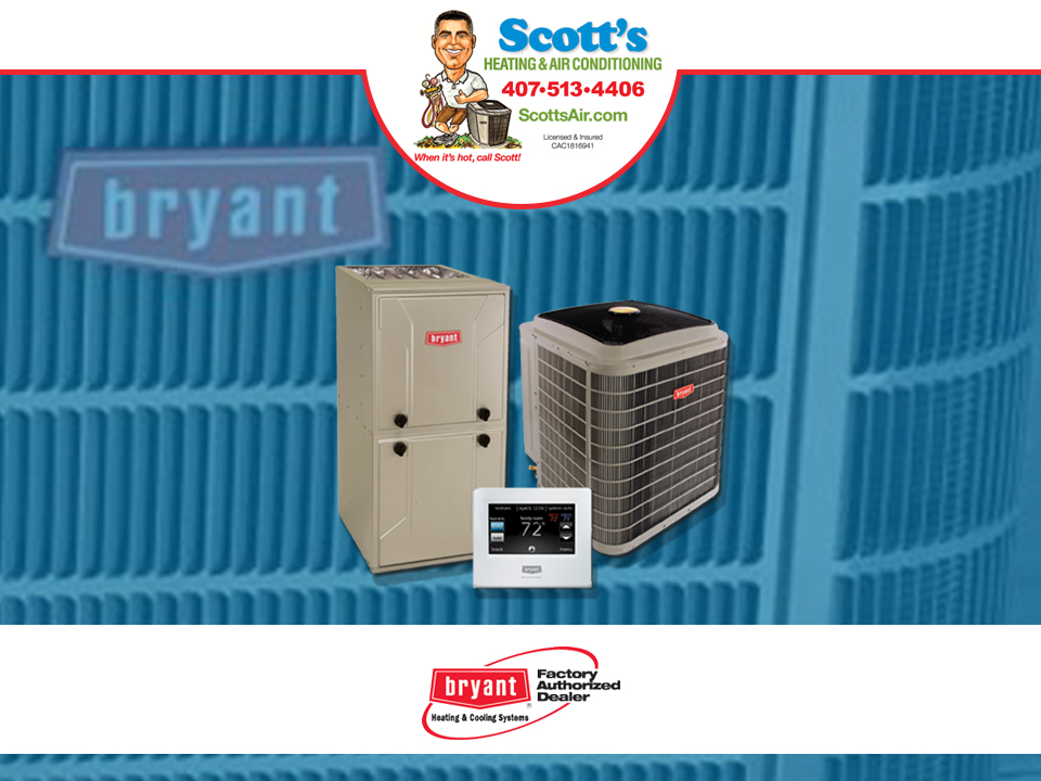 Scott's Air with Bryant products