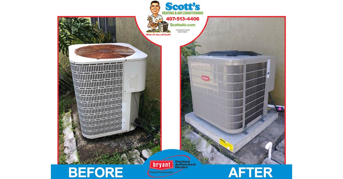 Before & After AC
