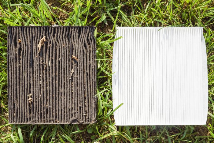 Dirty Vs. Clean Air Filters